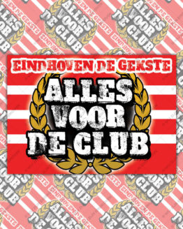 alles voor de club sticker