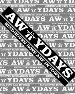 awaydays psv sticker