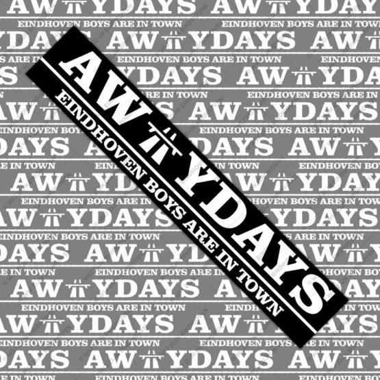awaydays psv sticker